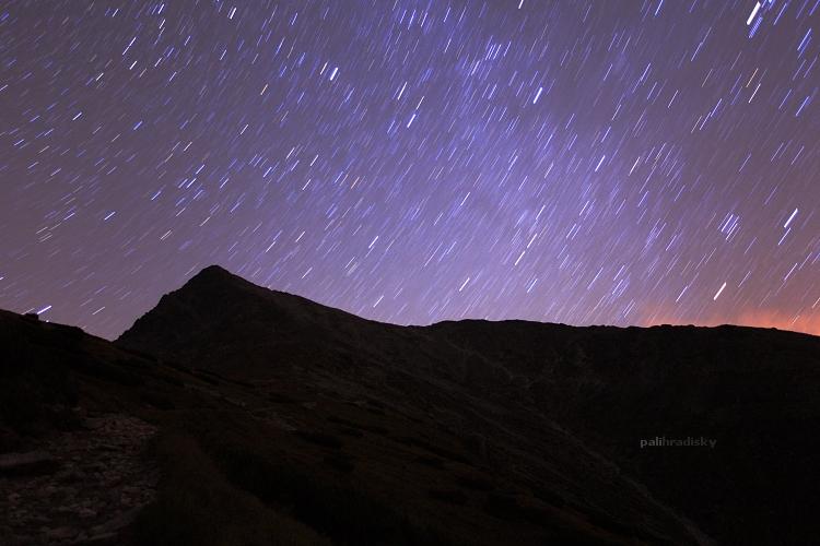 hviezdné nebo nad Kriváňom
