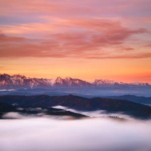 <b>TATRY Z PIENIN</b> <br><br> luxusné farby hore, hmla pod nohami ... čo viac si fotograf môže priať?