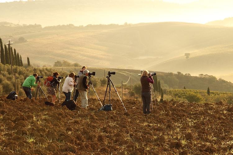 fotografický workshop Toskánsko, máj 2014