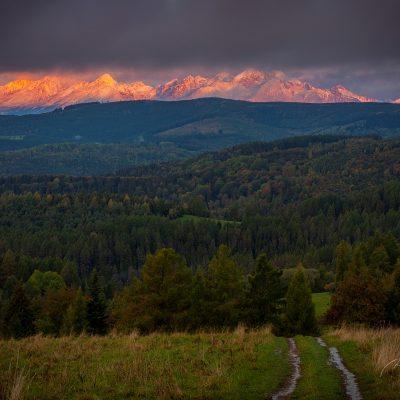 Tatry z Levočských vrchov